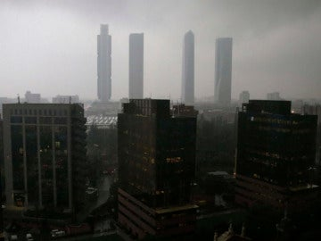 Lluvia sobre Madrid