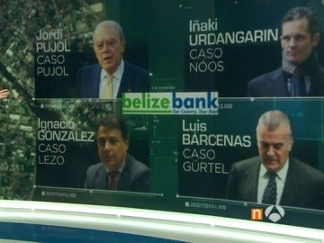Pujol, Urdangarin, Bárcenas y González