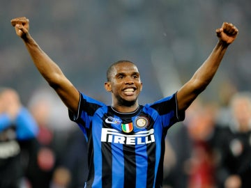 Eto'o, con el Inter