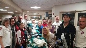 El joven que necesitaba un trasplante de pulmón