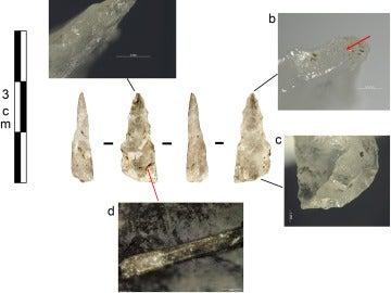 Descubren los primeros proyectiles de la Edad de Piedra