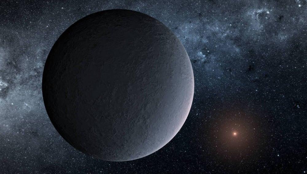 El planeta denominado 'bola de hielo'