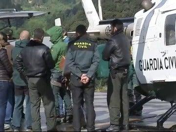Frame 20.791717 de: Evacuados en helicóptero los tres montañeros fallecidos en los Picos de Europa