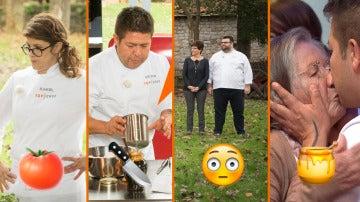 Concursantes mudos, terror en las madres y grandes batallas, los momentazos de 'Top Chef'