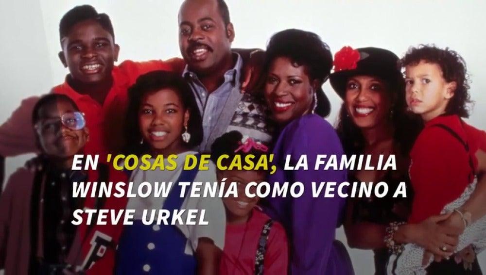 Frame 2.957692 de: Steve Urkel tiene una pregunta: ¿Te gustaría un reencuentro de los protagonistas de 'Cosas de casa'?
