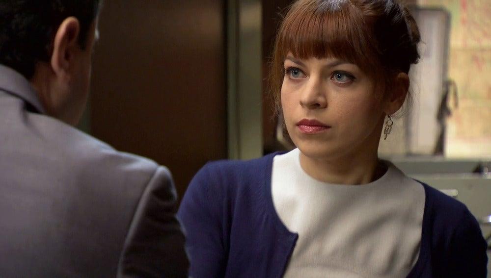 Nuria descubre todas las intenciones de Alonso