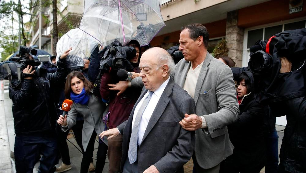 El expresidente de la Generalitat, Jordi Pujol