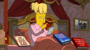 """Frame 17.533918 de: Los Simpson dedican su próximo e irónico episodio a la """"Era Trump"""""""
