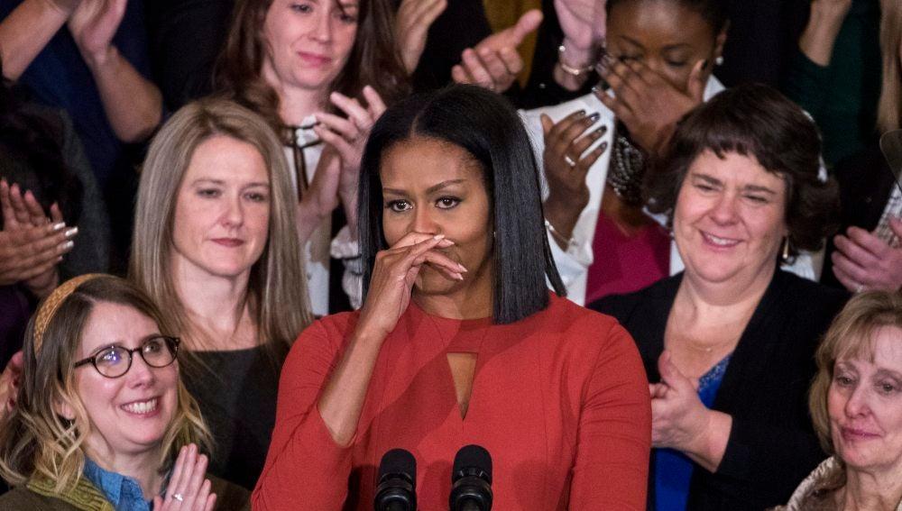 Michelle Obama, ex primera dama estadounidense