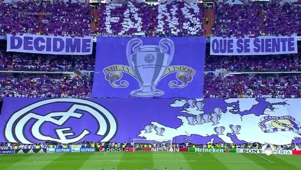"""Frame 79.207619 de: """"Decidme qué se siente"""": El mosaico de la afición del Real Madrid para recibir al Atlético en el Bernabéu"""
