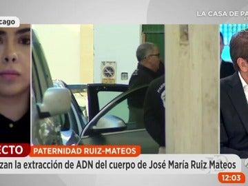 Frame 161.270476 de: Paralizan el cotejo de ADN del cadáver de Ruiz- Mateos a falta de mil euros