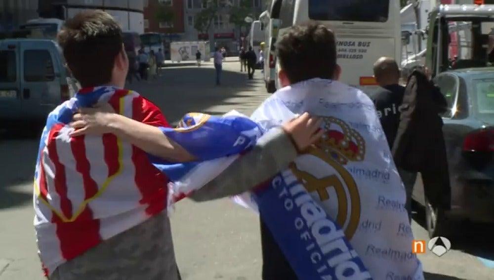 Frame 144.989103 de: Real Madrid vs Atlético: el derbi más internacional del mundo, en la capital de España