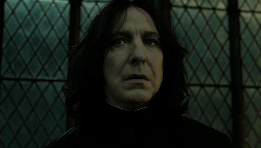 Severus Snape en la Batalla de Hogwarts