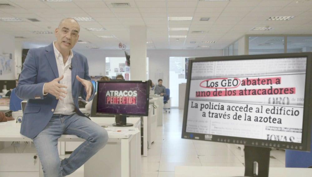 Nacho Abad desvela cómo fue el atraco al Banco Central de Barcelona