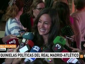 Frame 71.645527 de: Sáenz de Santamaría, Errejón, Gabilondo... La porra de los políticos para el derbi Madrid-Atlético