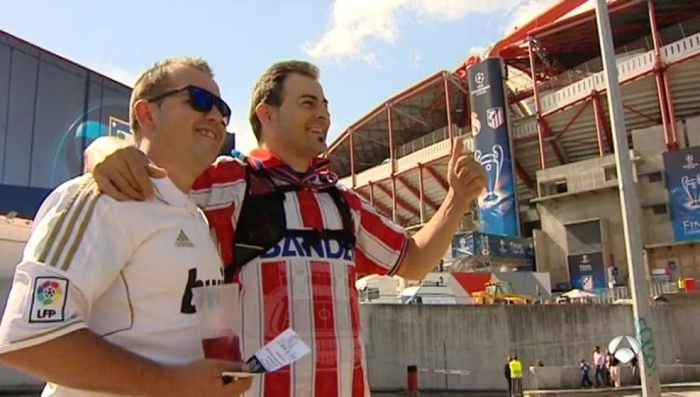 Frame 19.314467 de: Real Madrid vs Atlético: duelo de 'hermanos de sangre' tras Lisboa y Milán