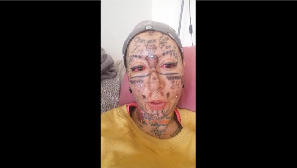 Lidia Reyes, la mujer más tatuada de Europa