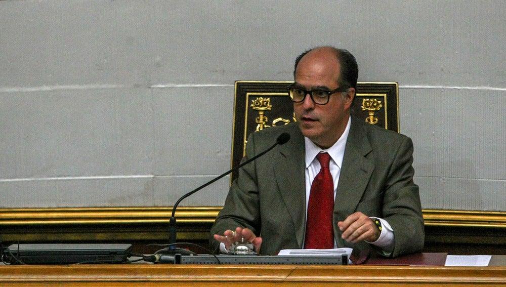 El opositor venezolano Julio Borges