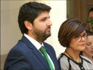 Frame 21.945666 de: López Miras jura su cargo como séptimo presidente de la Región de Murcia