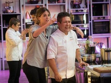 Manuela Velasco y Víctor se convierten en  ganadores de la prueba de fuego