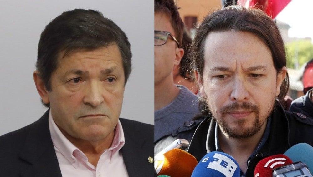 Javier Fernández y Pablo Iglesias