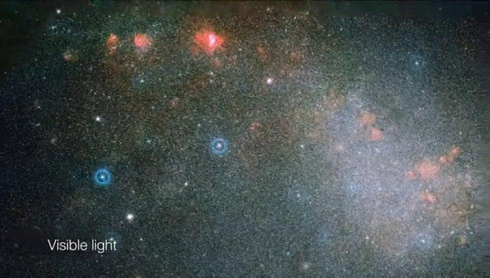 Frame 90.736 de: El telescopio VISTA atraviesa el polvo estelar de la Pequeña Nube de Magallanes