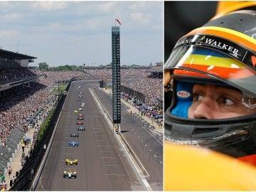 Alonso corre las 500 Millás de Indianápolis