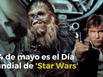 Frame 4.50643 de: Las series de televisión rinden homenaje a 'Star Wars'