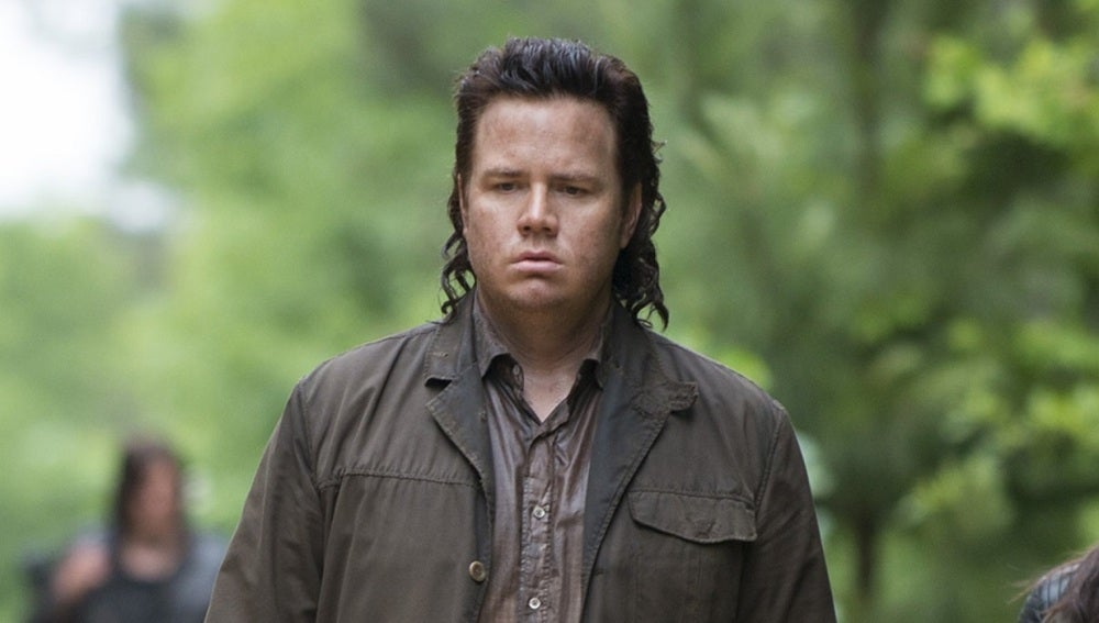 Josh McDermitt en 'The Walking Dead'