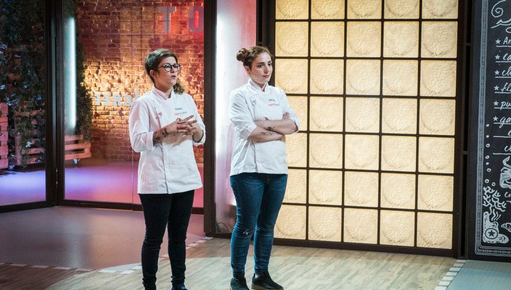 Melissa o Rakel, solo una de ellas pasará a la semifinal de 'Top Chef'