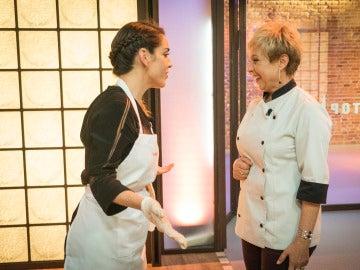 La voz de Ruth Lorenzo invade las cocinas de 'Top Chef'
