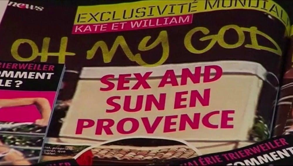 Frame 13.152 de: Los Duques de Cambridge reclaman millón y medio de euros por las fotos de Kate topless