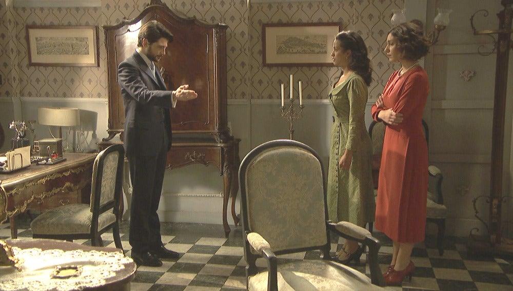 Hernando reúne a Camila y Lucía para sincerarse