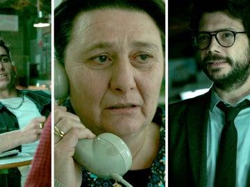 Los actores de Puente Viejo apoyan a los puenteviejunos de 'La casa de papel'