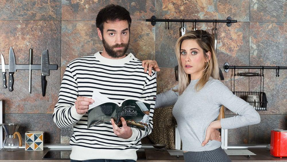 Jon Plazaola y María León son Iñaki y Carmen en 'Allí Abajo'