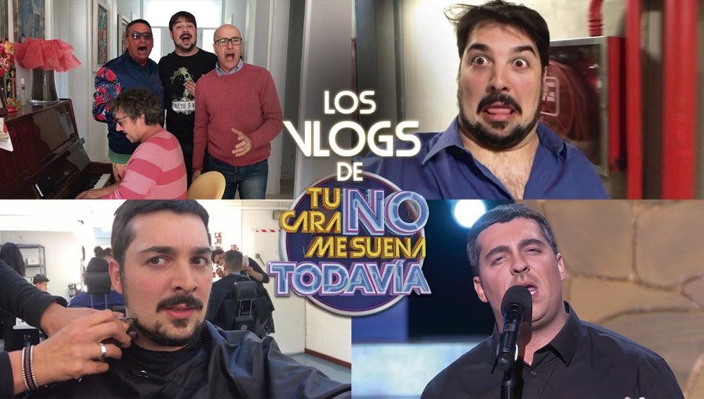 David Moreno se despide con lágrimas de su barba antes de convertirse en Eros Ramazzotti