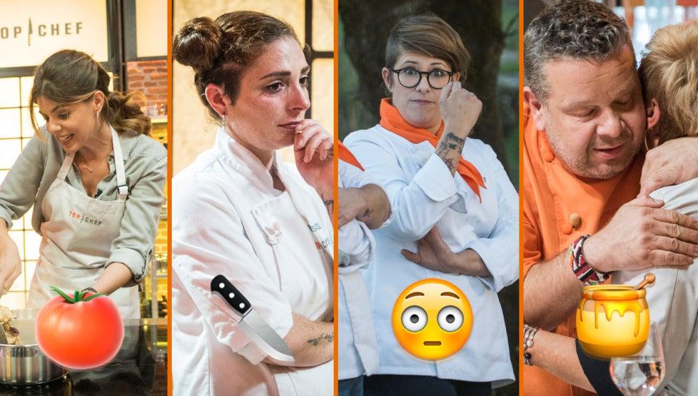 Palabras con odio, ladrones de hiervas y lágrimas del jurado, los mejores momentos de 'Top Chef'