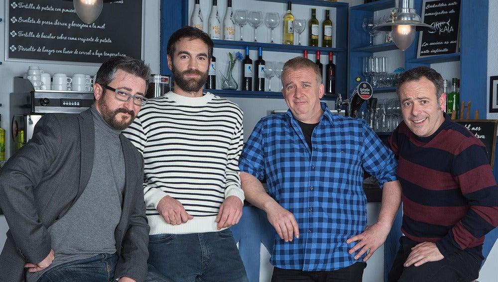 Iker Galartza,Gorka Aguinagalde y Óscar Terol forman La cuadrilla de Iñaki