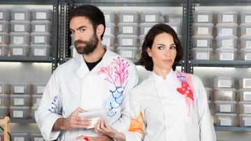 Jon Plazaola y Nerea Garmendia en 'Allí Abajo'