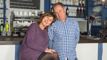 Maribel Salas y Santi Ugalde en 'Allí ABajo'