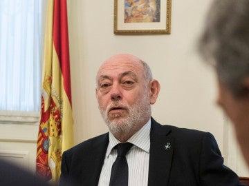El fiscal general del Estado, José Manuel Maza