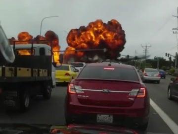 Explosión de un avión en Washington