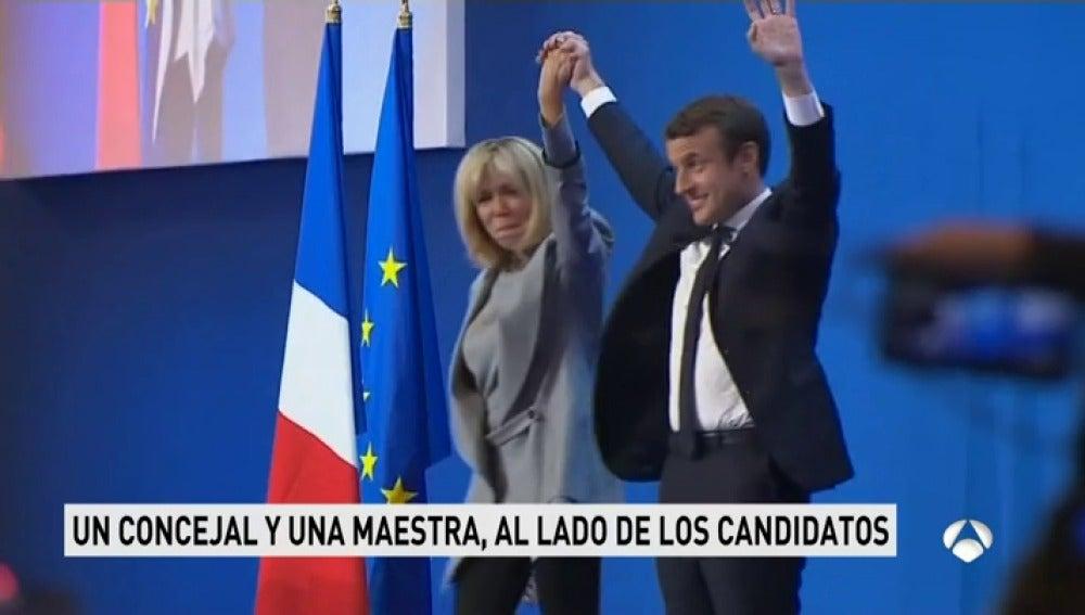 Frame 54.154936 de: Los franceses analizan los perfiles de los posibles consortes de los candidatos a la presidencia