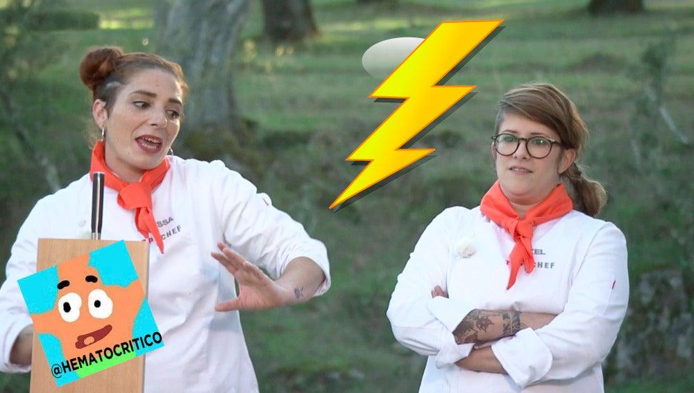 """""""La trifulca entre Melissa y Rakel"""", por @hematocritico"""