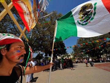 Celebración del Cinco de Mayo en Los Ángeles (EEUU)