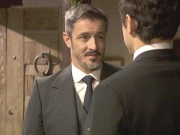 El bonito mensaje de Alfonso a Matías momentos antes de la boda