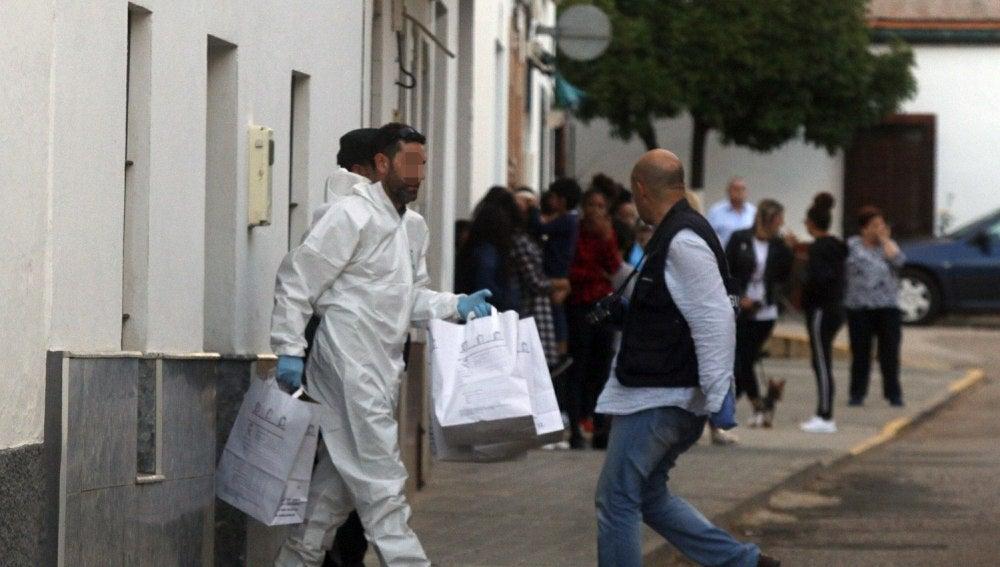 Asesinato de una mujer en Sevilla