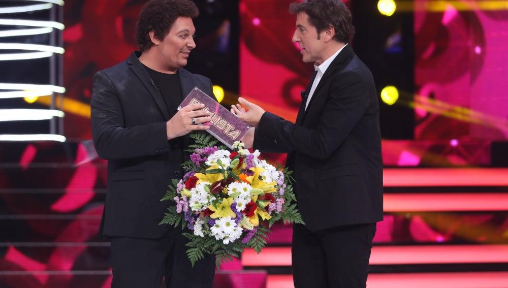 David Moreno gana la octava gala de 'Tu cara no me suena todavía' convertido en Tom Jones