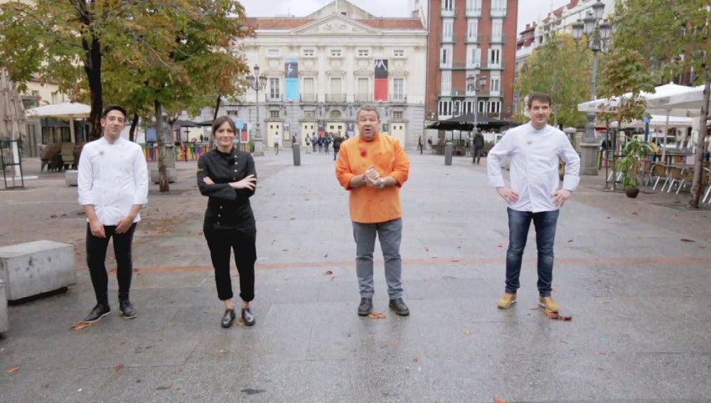 David, Begoña y Marcel vuelven a las cocinas de 'Top Chef'