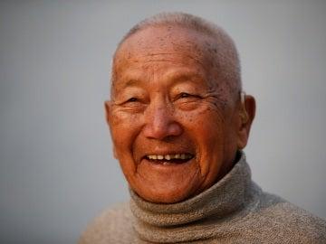 El alpinista Min Bahadur